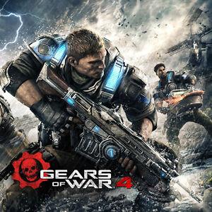 GEARS OF WAR 4 ET AUTRES POUR XBOX ONE