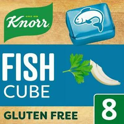 KNORR FISH STOCK CUBES 3 X 8 PACK