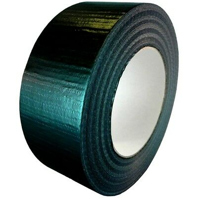 T.r.u. Utility Grade Cloth Duct Tape. 2 Wide X 60 Yd. Lenght. Black