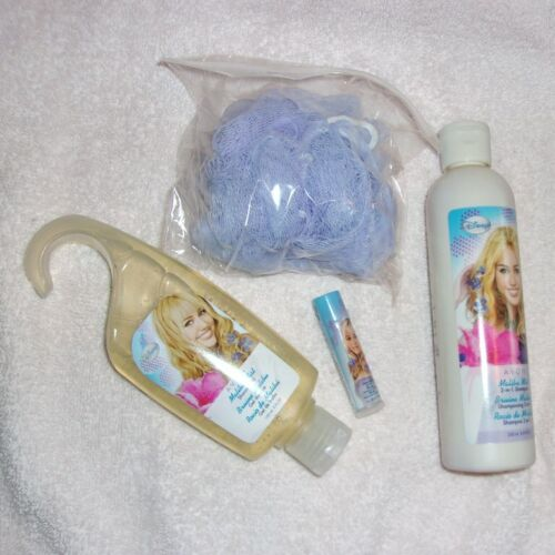 4 Piece  AVON   Hannah Montana   MILEY CYRUS  Gift Set   Factory SEALED