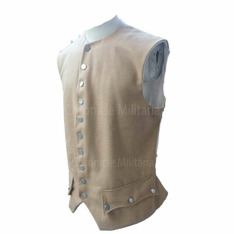 Revolutionary war tan waist coat