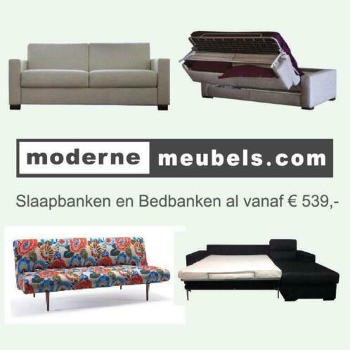 Mooie Moderne Slaapbank.Slaapbanken Calia Alessio Slaapbed Bedbank Innovation Stof