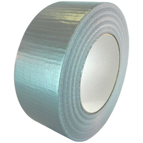 "T.R.U. Utility Grade Cloth Duct Tape. 2"" Wide X 60 Yd. Lenght. (Gray)"
