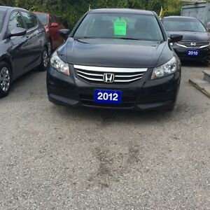 2012 Honda Accord SPECIAL EDITION MANUAL 5-SPEED
