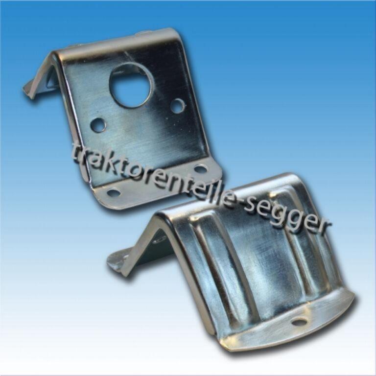 1 Universal Lampenhalter aus Metall für Blink und Positionsleuchte Traktor  Foto 1