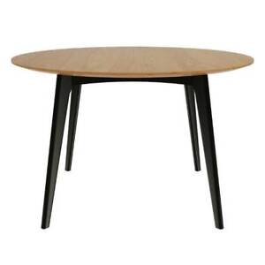 Magnus Klaus Round Dining Table - American Oak - Coastal Furnitur