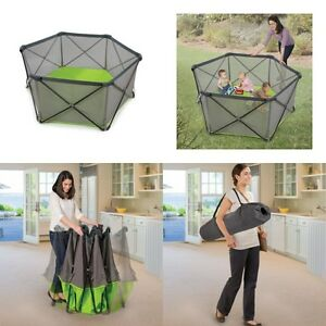 Octagonal baby playpen by Summer