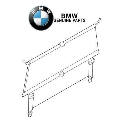 For BMW E84 X1 2.0L L4 3.0L L6 2013-2015 Rear Luggage Cover Genuine 51472990745