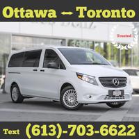 DAILY Rides <> Ottawa to Toronto Carpool <> 5 PM Today