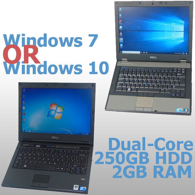 Laptop Windows - FAST CHEAP Wi-Fi WINDOWS 7/10 DUAL-CORE LAPTOP 2GB RAM 250GB HDD *WARRANTY*
