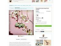 Handmade personalised jewellery