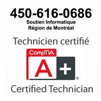Réparation et dépannage Informatique 450-616-0686