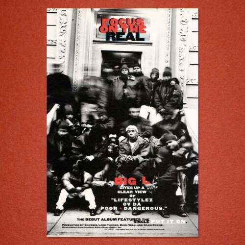 "Big L ""Lifestylez Ov Da Poor & Dangerous"" 11x17"" Poster"