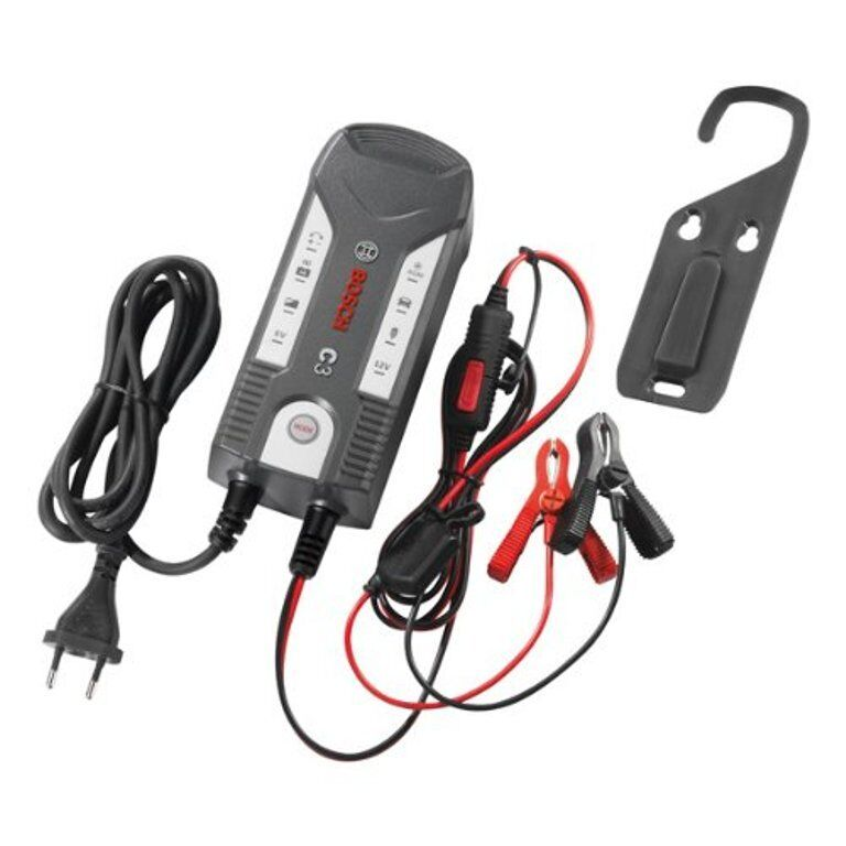 Bosch 018999903M - Caricabatteria C3 per Auto/Moto