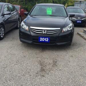 2012 Honda Accord SPECIAL EDITION MANUAL 5-SPEED