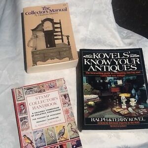 Antiques or Stamps:  Collector's Trio of Books