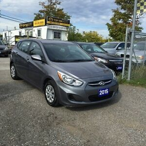 2015 Hyundai Accent FULLY CERTIFIED- FACTORY WARRANTY PERFECT FO