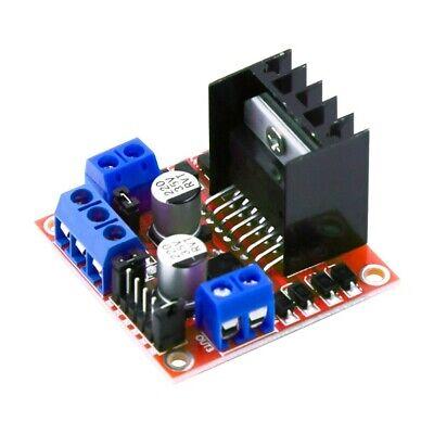 2pcs L298n Dual H Bridge Dc Stepper Servo Motor Driver Controller Board Arduino