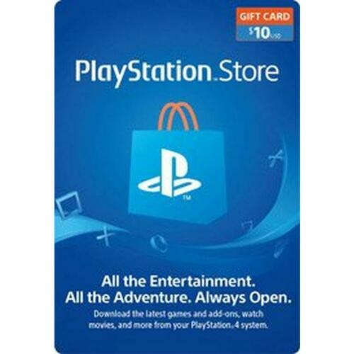 PSN $10 Playstation Network $10 USD US Store Card