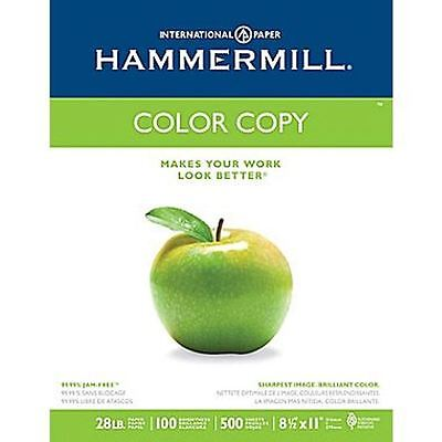 "Hammermill - Color Copy Digital Paper, 28lb, 100 Bright, 8-1/2 x 11"" - Ream"
