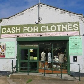 Cash for Clothes in Cambridge