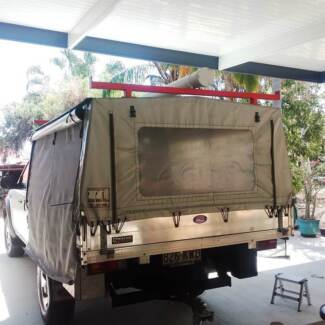 Vinyl Canopy to suit extra/space cab ute and possible tray Swap
