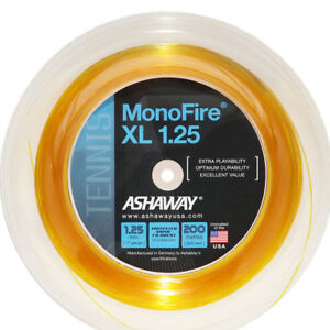 ASHAWAY MONO FIRE XL 1.25 STRING REEL ,200 M , NEW