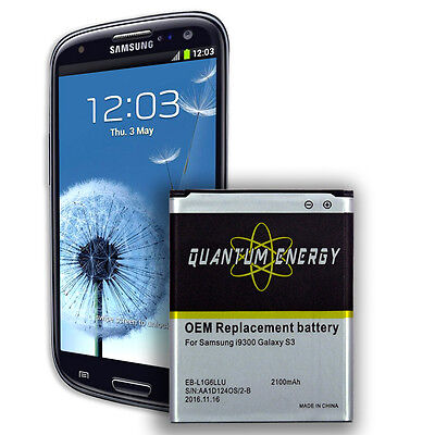 Best OEM quality Replacement Battery for Samsung Galaxy S3 i9300, i747, (Best Battery For Samsung Galaxy S3)