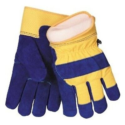 Large Mens Cowhide Glove (Waterproof Insulated Cowhide Winter Work Glove - Mens Size Large )
