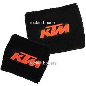 KTM Brake Reservoir Cover Socks RC8 SUPER DUKE SUPERDUKE 690 950 990 SMT 1190 R