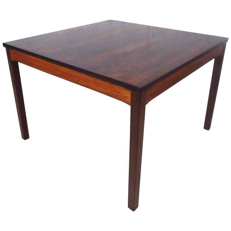 Description This Norwegian Rosewood Coffee Table