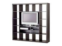 IKEA EXPEDIT - TV stand/storage unit + EXPEDIT book shelf unit