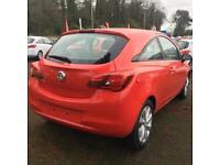 Vauxhall Corsa ENERGY AC (red) 2017-09-30