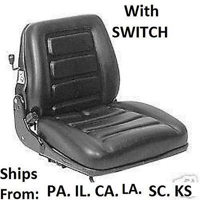 New Forklift Seat Suspension Weight Adjustment With Switch Cat Yale Toyota