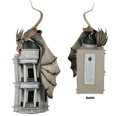 Wizarding World of Harry Potter Gringotts Bank Dragon Figurine Figure NEW