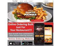 Online Ordering System Website for Fast food