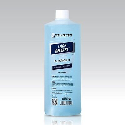 LACE RELEASE Adhesive & Tape Release for all human hair systems cleaner 32 OZ. for sale  Shipping to India