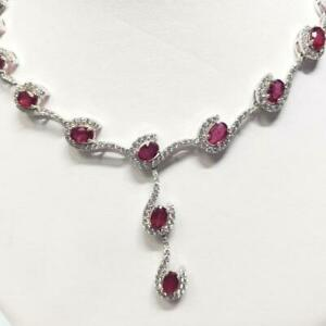 Custom Ruby 4-Piece Jewellery Set - Appraised at $3950