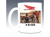 honda cx500 personal 11oz mug add name on payment message