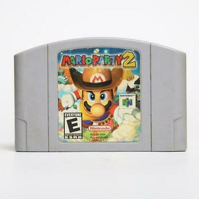 Mario party 2 Nintendo64 N64 Series EUR PAL Cartridge