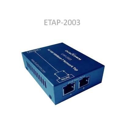 DUALCOMM ETAP-2003 USB Powered Gigabit Network TAP w/ Single Monitor Port for sale  Shipping to India