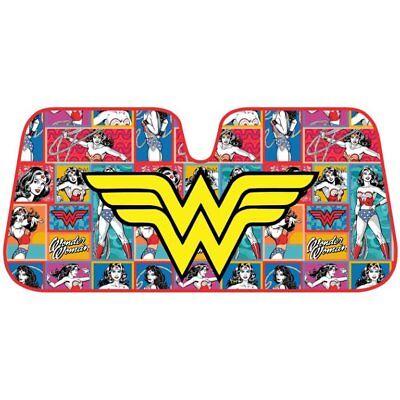 Wonder Woman Logo Car Reflective Windshield Sun Shade Sun Visor - Feature