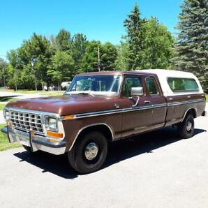 79 Ford XLT Ranger, Original Owner, condition, 59000km's