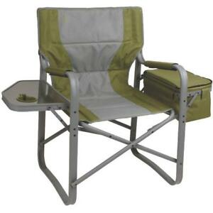 Coleman Folding  Chair Director with with Side Table and Cooler (New other)