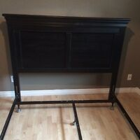 Queen Size Headboard and bed frame