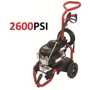 NEW* HONDA PRESSURE WASHER 2.3 GPM - 2600PSI - HONDA GCV160 Engine POWERWASHER 106553421