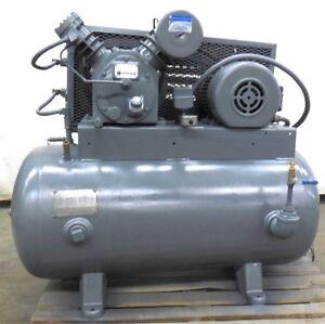 INGERSOLL-RAND-AIR-COMPRESSOR-TYPE-30-MODEL-242-5C3-5HP-MOTOR-SER-30T
