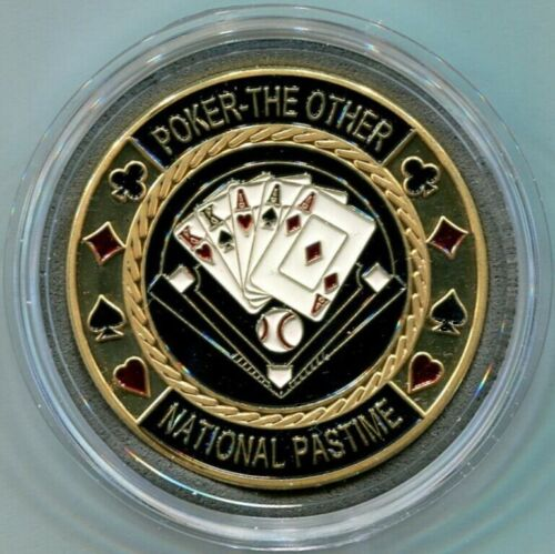 BASEBALL - The other National Pastime - Poker Card Guard Protector