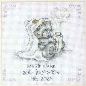 Me to you Baby Powder Cross Stitch Kit TT103