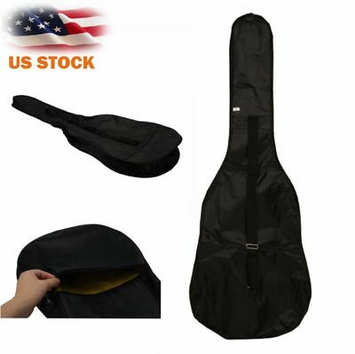 New Protable Classical 38 inch Nylon Gig Bag Case for Electric Acoustic Guitar